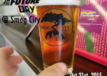 Smog City Back to the Future Day