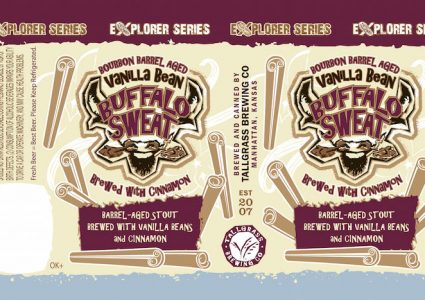 Tallgrass Bourbon Barrel Aged Vanilla Bean Buffalo Sweat