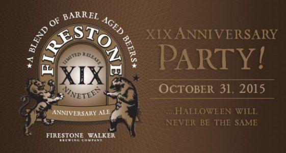Firestone Walker Brewing - XIX Anniversary Party
