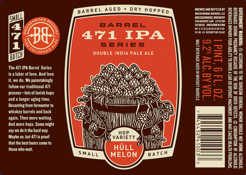 Breckenridge Barrel 471 IPA Hull Mellon