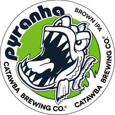 Catawba Brewing - Pyranha Brown IPA