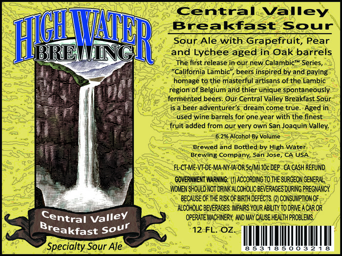 High Water Central Valley Breakfast Sour