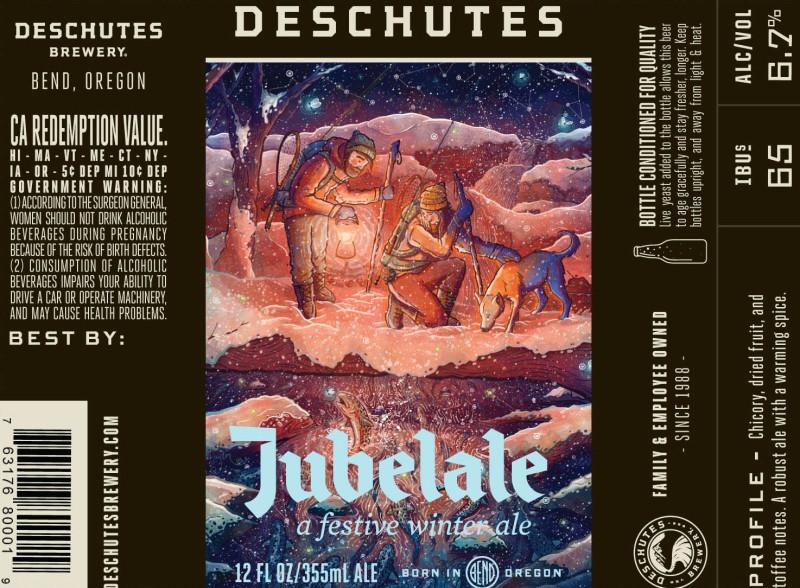 Deschutes Jubelale 2015