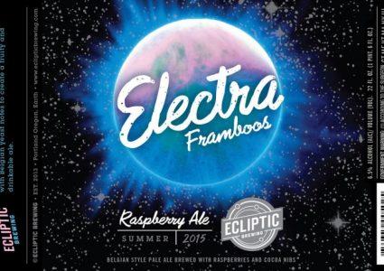 Ecliptic Brewing - Electra Framboos