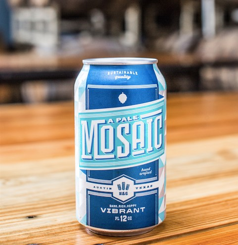Hops & Grain - A Pale Mosaic (can)