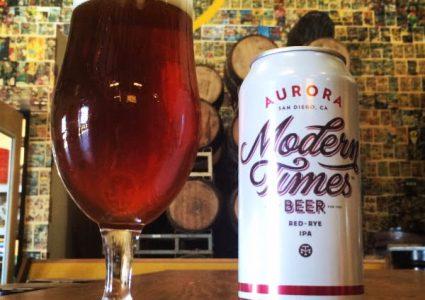 Modern Times - Aurora Red Rye IPA