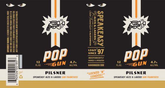 Speakeasy Pop Gun Pilsner