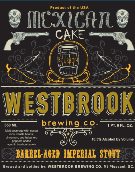 mexican cake beer westbrook brewing 2015 barrel aged mexican cake release 5852