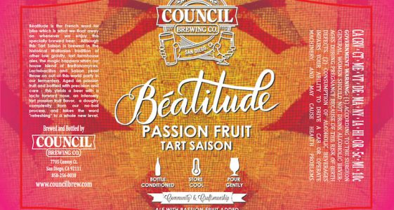 Council Beatitude Passion Fruit