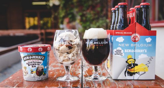 New Belgium Ben and Jerrys Ice Cream Beer