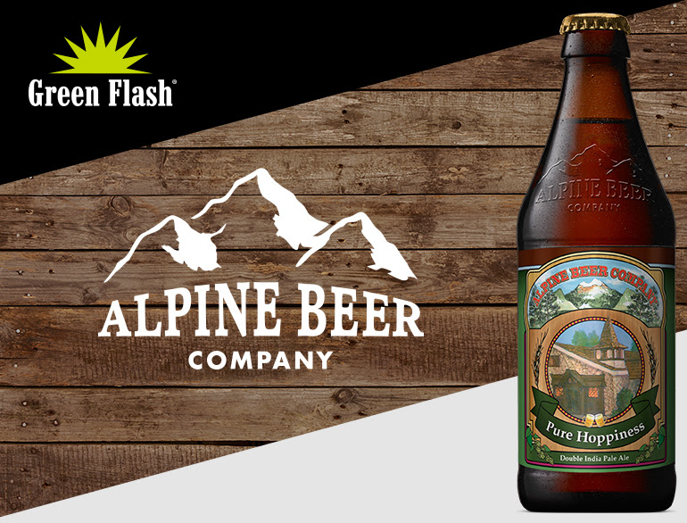 Alpine Pure Hoppiness Sell Sheet Graphic
