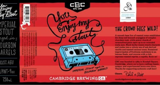 Cambridge Brewing Co. - You Enjoy My Stout