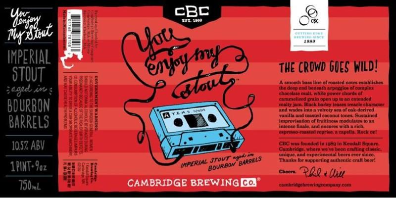 Cambridge Brewing Co. - You Enjoy My Stout