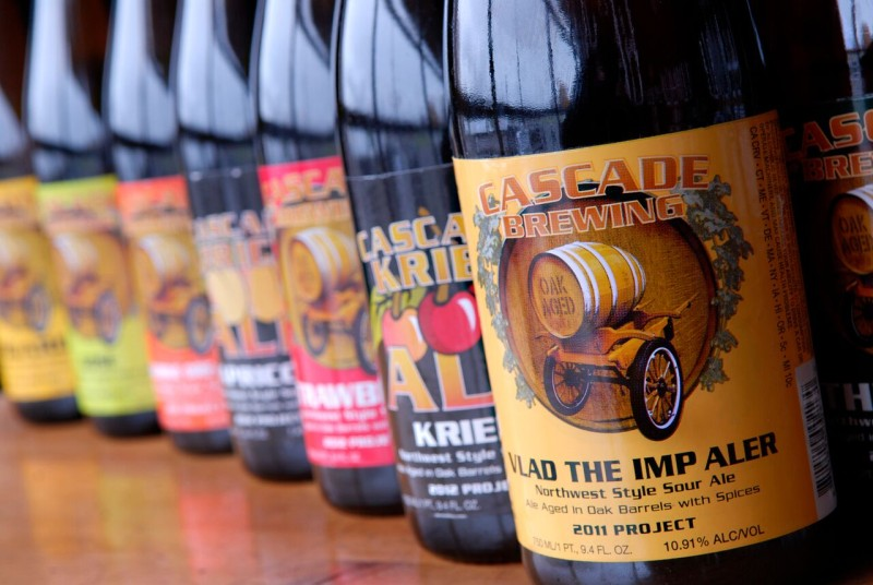 Cascade Brewing Bottles