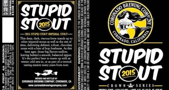 Coronado Stupid Stout 2015