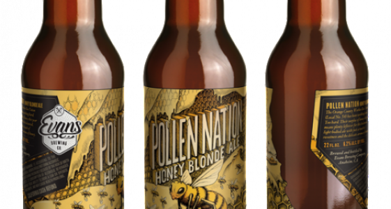 Evans Brewing - Pollen Nation Honey Blonde Ale