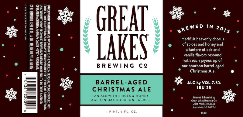 Great Lakes Brewing Recalls Barrel-Aged Christmas Ale Over Quality ...