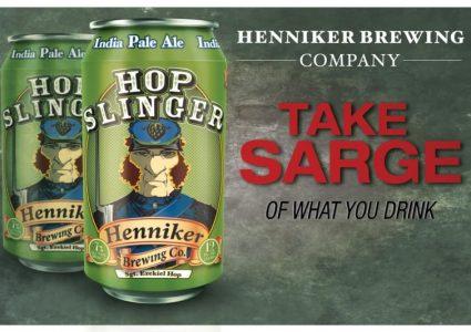 Henniker Brewing - Hop Slinger IPA