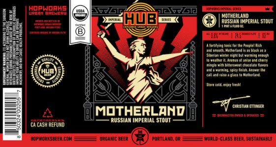 Hopworks Motherland Russian Imperial Stout