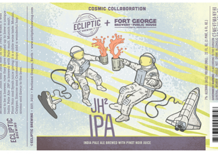 Ecliptic Brewing / Fort George Brewing - JH² IPA