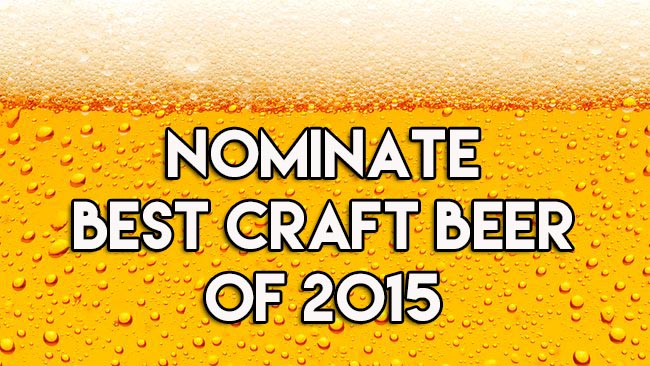 Nominate Best Craft Beer of 2015