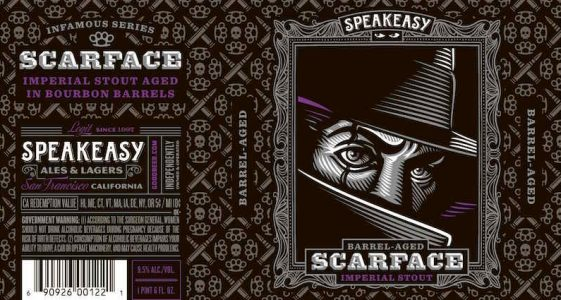 Speakeasy Barrel Aged Scarface