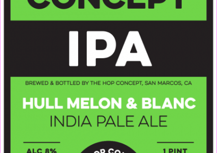 The Hop Concept IPA Hull Mellon and Blanc