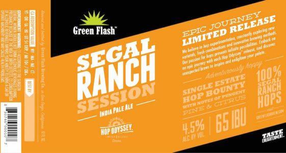 Green Flash Segal Ranch Session IPA