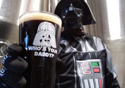 Mispillion River Vader Double Black IPA