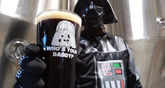 Mispillion River Vader Double Black IPA