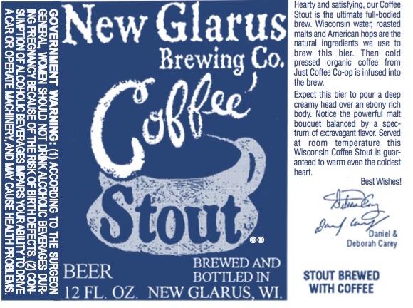New Glarus Coffee Stout
