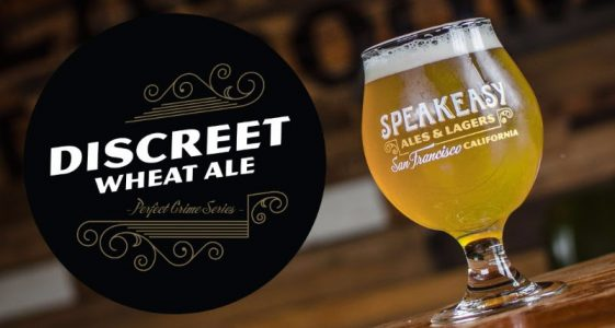 Speakeasy Ales & Lagers - Discreet Wheat Ale