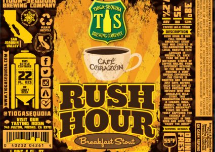 Tioga Sequoia Brewing - Rush Hour Breakfast Stout