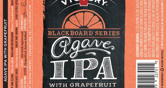 Victory Agave IPA with Grapefruit