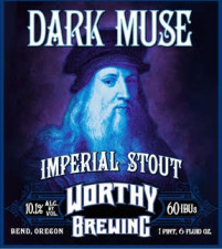 Worthy Brewing - Dark Muse Imperial Stout