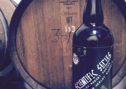 Surf Brewery® Releases Scientific Series™ Barrel-Aged B-03: Robust Porter aged in Merlot Wine Barrels