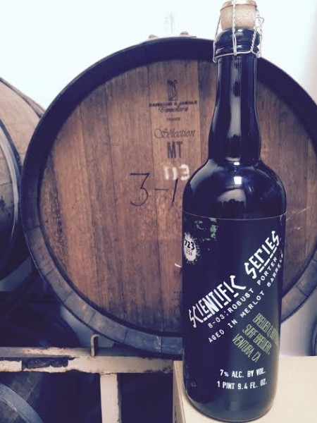 Surf Brewery® Releases Scientific Series™ Barrel-Aged B-03: Robust  Porter aged in Merlot Wine Barrels