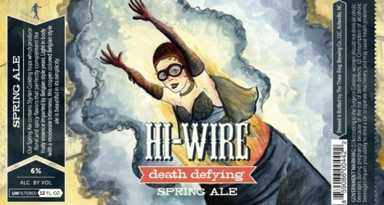 Hi-Wire Brewing - Death Defying Spring Ale