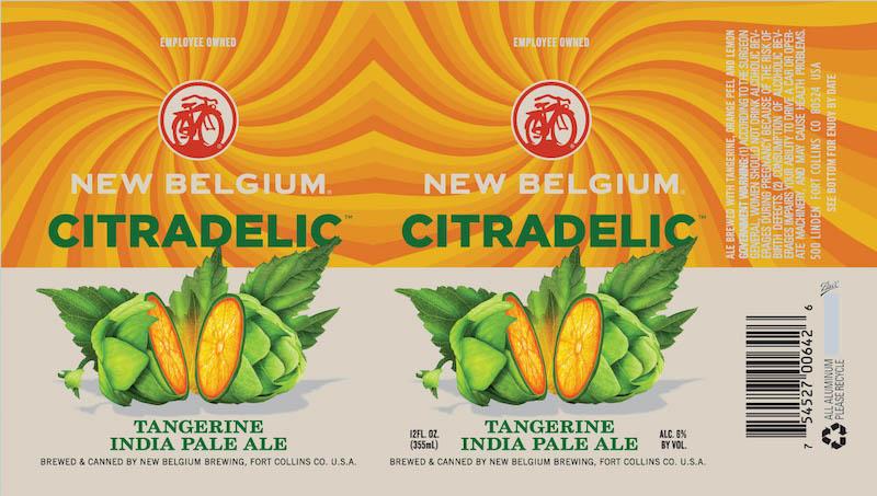 New Belgium Introduces Citradelic Tangerine Ipa Thefullpint Com