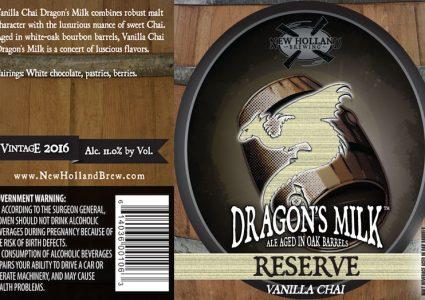 New Holland Dragons Milk Reserve Vanilla Chai