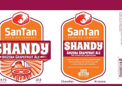 SanTan Grapefruit Shandy