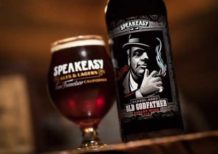 Speakeasy Ales & Lagers - Old Godfather Barleywine Ale