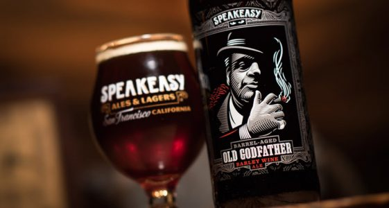 Speakeasy Ales & Lagers - Old Godfather Barleywine Ale