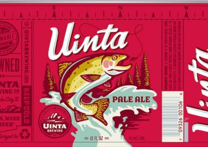 Uinta Pale Ale Can Label