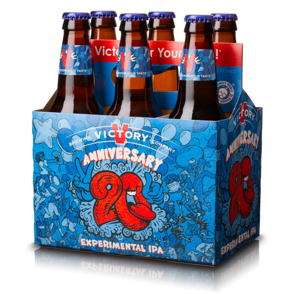Victory Brewings Anniversary 20 Experimental Ipa Packs A Party