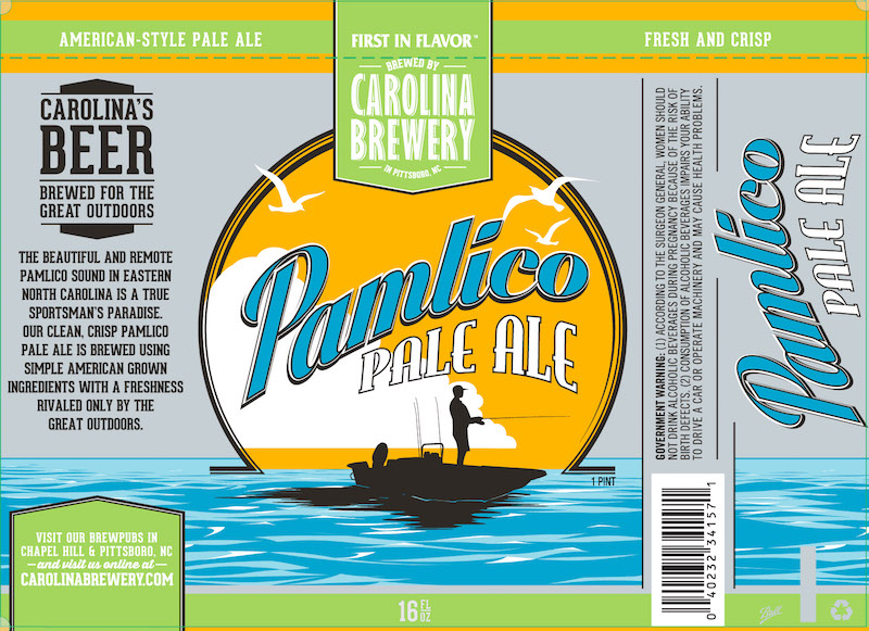 Carolina Brewery Pamlico Pale Ale