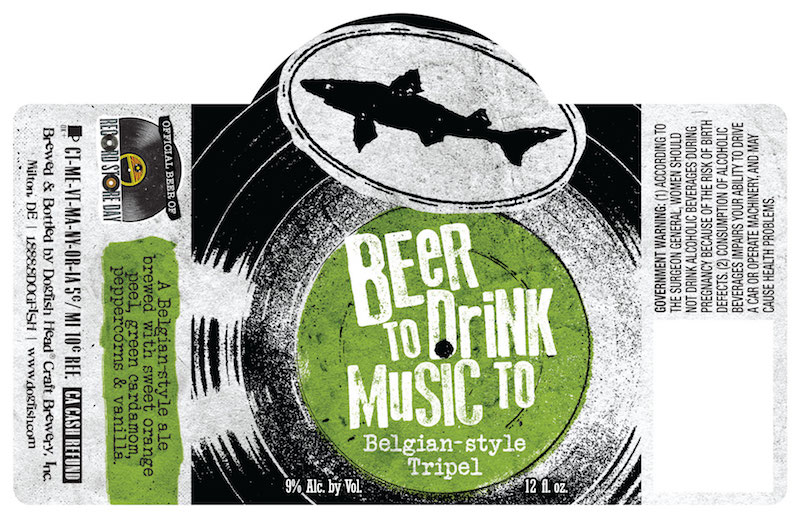 Dogfish Head Beer to Drink Music to