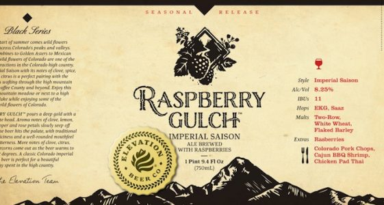 Elevation Raspberry Gulch
