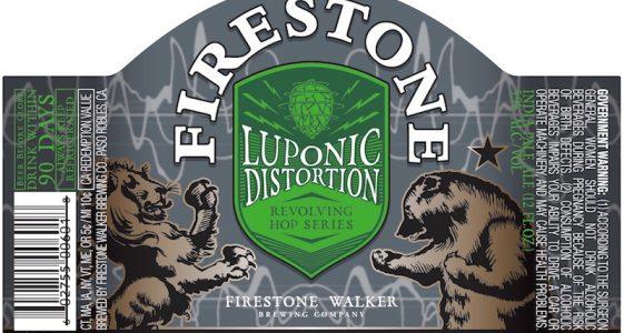 Firestone Walker Luponic Distortion Bottle Label