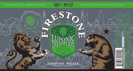 Firestone Walker Luponic Distortion Can Label